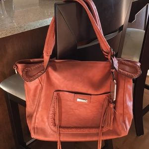 Beautiful brown leather bag